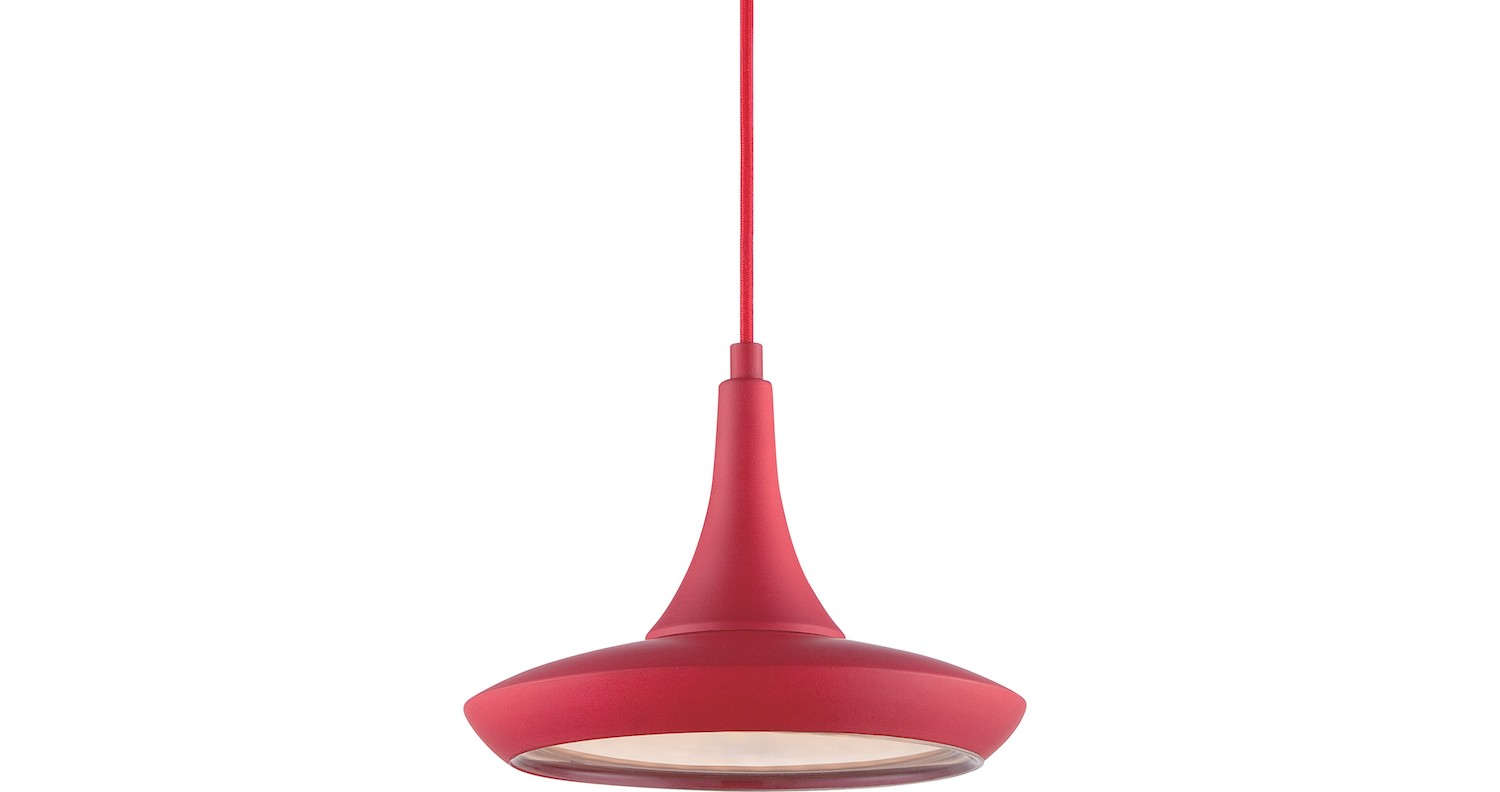 Nuvo Red Pendant 1